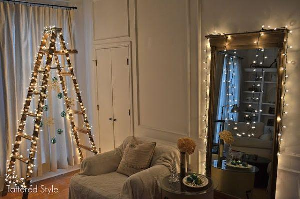 Albero di Natale su scala doppia di Tatteredstyle