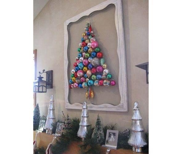 Alberi Di Natale In Legno Da Parete : Albero di natale fai da te