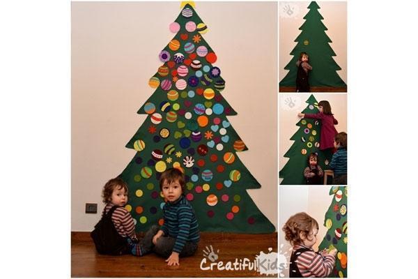 Foto: Idee creative per alberi di Natale fai da te