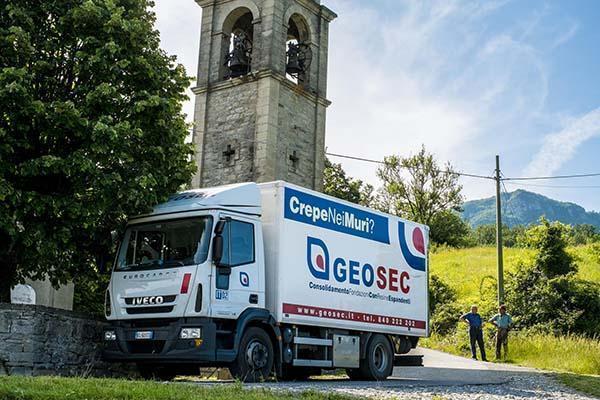 Geosec, specialisti nel problema del cedimento fondazioni