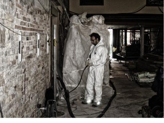 Consolidamento fondazioni iniezione con resine Venezia