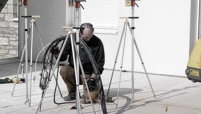 Monitoraggio risanamento pavimento