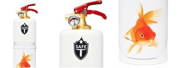 Estintori domestici di design, dettagli di Safe-T