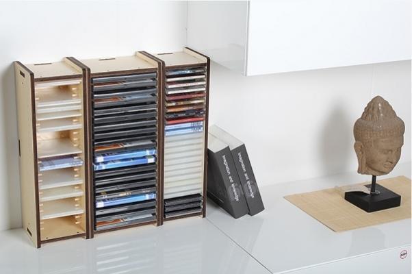 Mobili a incastro - Porta cd in legno ...