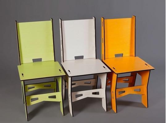 Prototipo di sedia di Il tecnico del legno