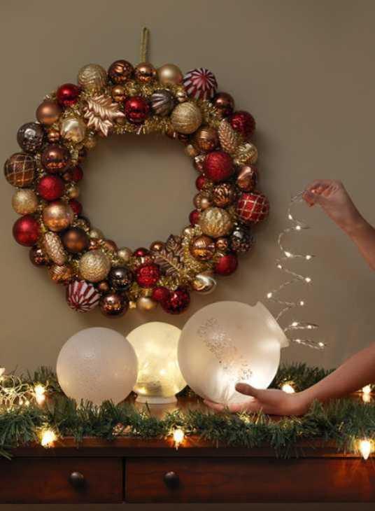Lampade luminose per Natale