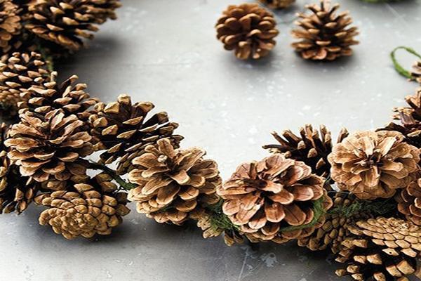 Foto decorazioni natalizie fai da te - Decorazioni ghirlande natalizie ...
