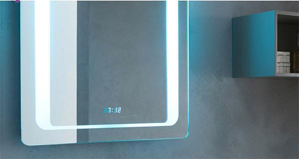Specchio con orologio digitale integrato Aquila di Vanità Casa