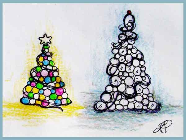 Decori natalizi per il soggiorno - Decori natalizi per finestre fai da te ...