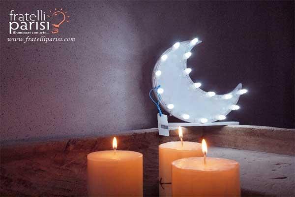 Luna a luci led di Fratelli Parisi
