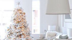 Ecco come decorare l'albero di Natale in stile shabby chic!
