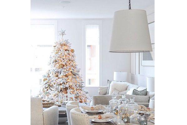 Shabby chic Christmas tree - Homexyou.com