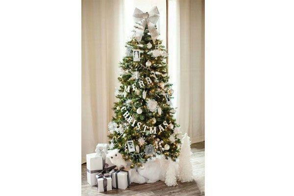 Shabby Chic Natale : Shabby chic christmas tree