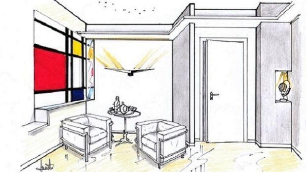 Soluzione per arredare la sala d'attesa di uno studio professionale