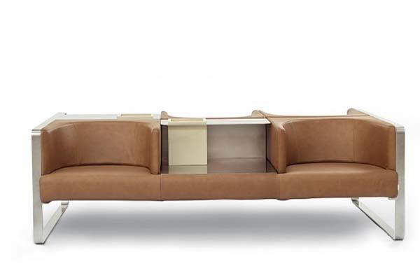Sedute per sala attesa: collezione Ianus by Felice Rossi