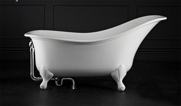 Vasche da bagno retr belle e intramontabili - Vasca da bagno piedini ...