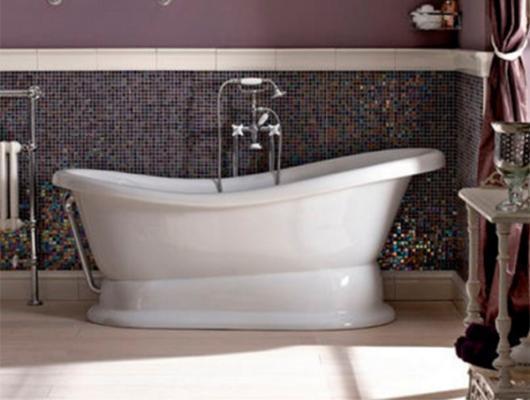 Vasca Da Bagno Stile Francese : Vasche da bagno retrò: belle e intramontabili vasche da bagno