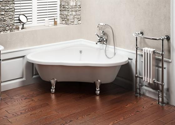 Vasca Da Bagno Angolare Ghisa : Foto vasche da bagno retrò belle e intramontabili
