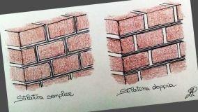 Rifinire le connessioni tra i mattoni con la stilatura dei giunti