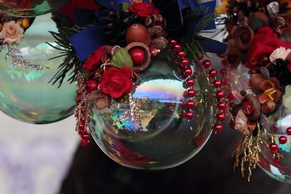 Pallina natalizia riflettente