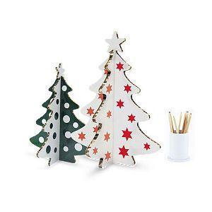 Albero di Natale da tavolo in cartone di Marameo Design