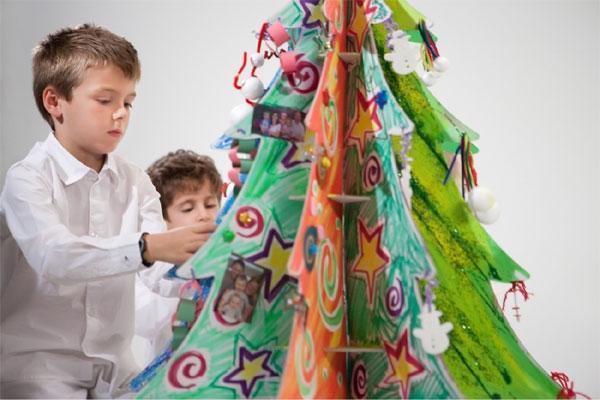 Albero natalizio in cartone RenoDeMedici
