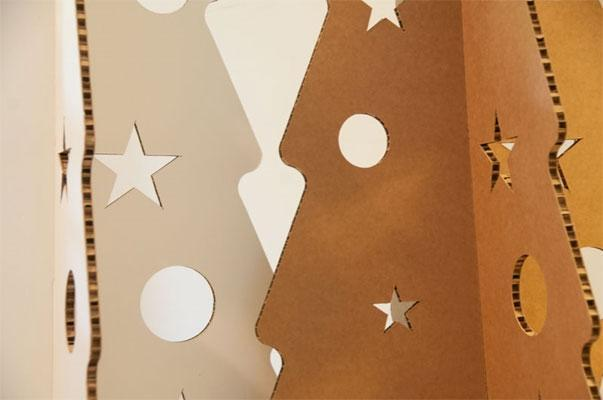 Albero in cartone di Marameo Design