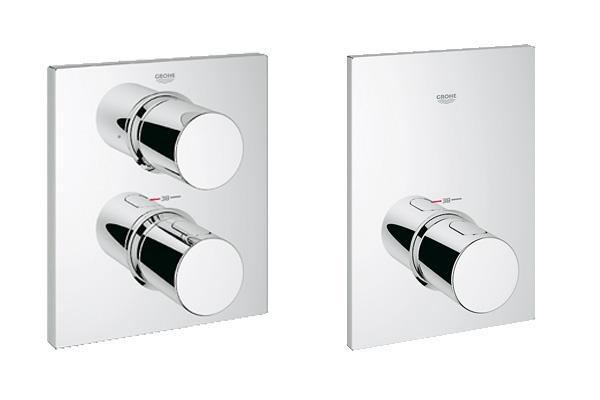 Miscelatori termostatici per lavandini e docce for Catalogo grohe