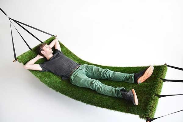 Amaca di erba tratta da dottorgadget.it