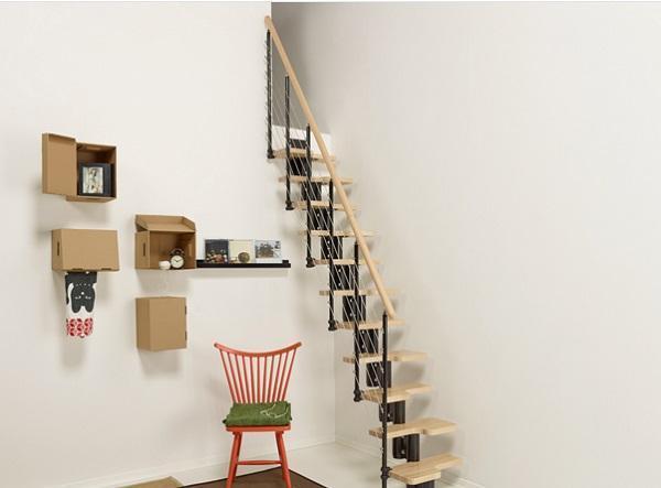 Mini scale per spazi ridotti - Scale interne piccoli spazi ...