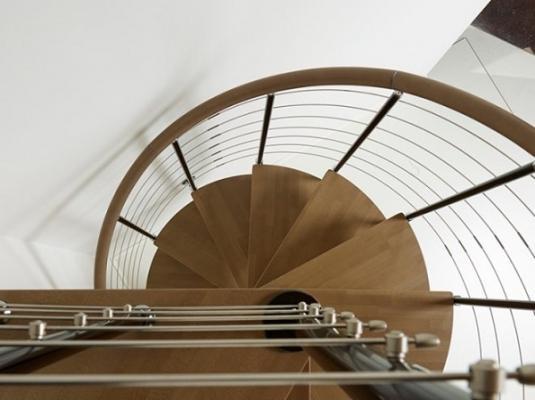 Mini scale per spazi ridotti - Scale a chiocciola salvaspazio ...