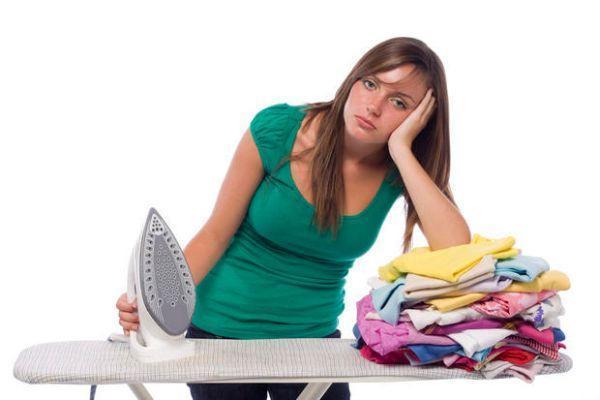 Non stirare: un vantaggio dell'utilizzo dell'asciugatrice