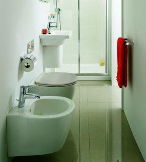 Small bathroom fixtures are essential within a bathroom of modest ...