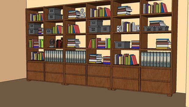 Mensole A Scomparsa Per Libri.Mobili Stabili E Sicuri Per La Casa