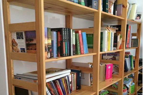 Mobili stabili e sicuri per la casa for Scaffalatura libreria