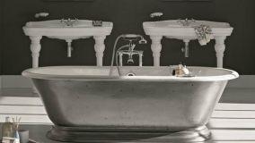 Design e solidità delle vasche metalliche per il bagno