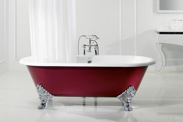 Vasca da bagno in ghisa Jasmine di Bleu Provence