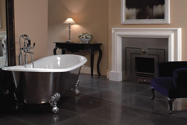 Vasche metalliche design e solidit - Vasche da bagno retro ...