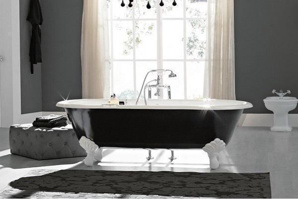 design e solidit delle vasche metalliche per il bagno