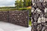 Idee per giardino, pannelli Zenturo per contenimento roccia lavica by Betafence
