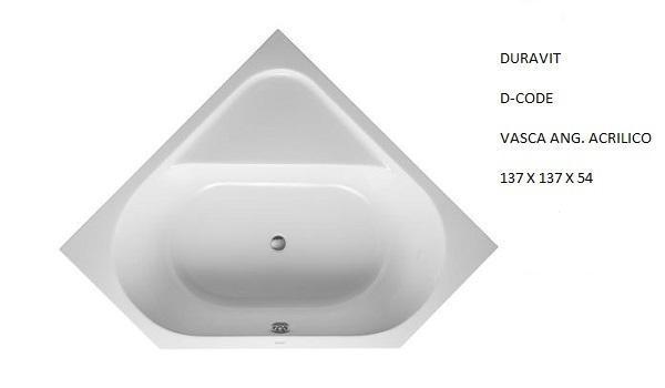 Vasche angolari: Duravit, D-Code