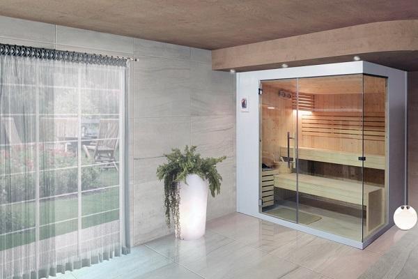 Sauna finlandese Chioggia di Emoplast