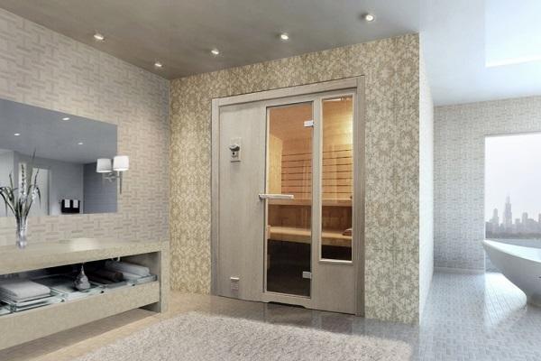Sauna finlandese Linea di Emoplast