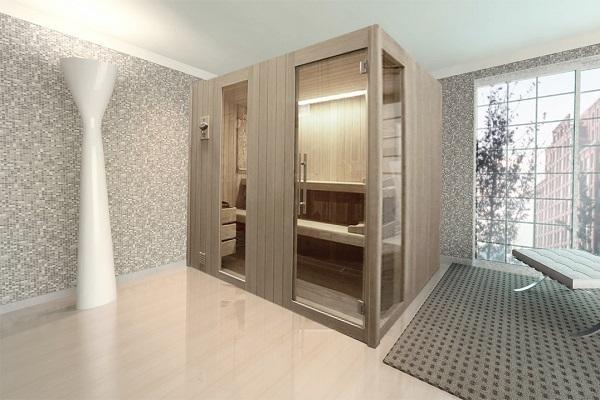 Sauna Luxory di Emoplast