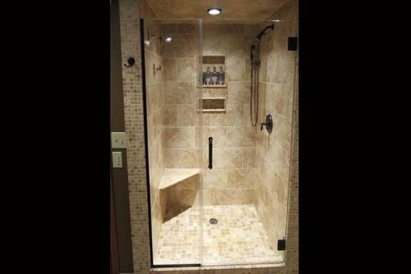 Spa domestica per la cura del corpo - Foto di bagni con doccia ...