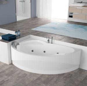 Vasche da bagno angolari per il relax domestico - Vasche da bagno ad incasso ...