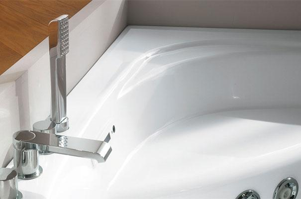 Vasca Da Bagno Teuco : Vasche da bagno angolari per il relax domestico
