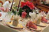 Decorare la tavola in occasione del Capodanno
