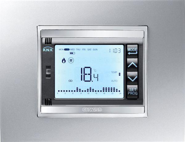 Sistema di controllo della temeratura e dei costi di riscaldamento Gewiss