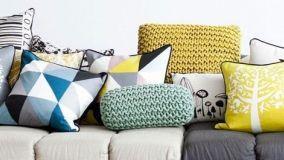 Cuscini per divani: un tocco decorativo in casa